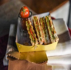 Vegetable Grill Sandwiches