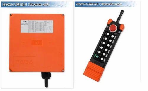 Orange SAGA L12 Radio Remote Controls, For Material Handling Usage