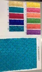 Blue Silk Brasso Fabric