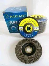 Round Abrasive FLAP DISC, 36 # To 600