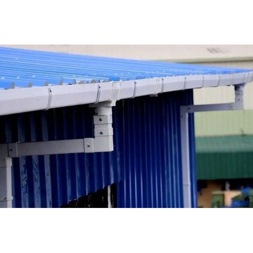 Pvc Rain Water Gutter At Rs 120 Meter Roof Gutter Id