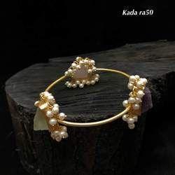 Stone pearl kada