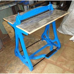 Foot Operated File Creasing Machine