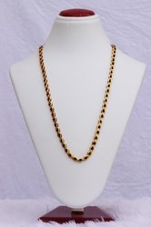 HR Sales Casual Wear Hr-510 Gold Plated Chain, Size: 30 Inch