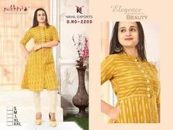 Cotton Kurti With Pant Set