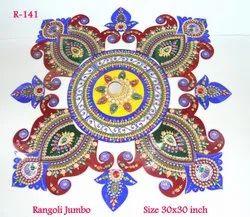 Jumbo Freehand Rangoli