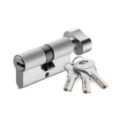 Dorzen Stainless Steel and Stainelss Steel Cylinder Lock, Chrome