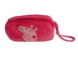Soft Plush Pouch Kids (Peppa Pig)