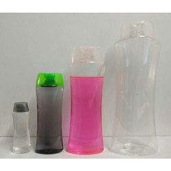 PET Eoval Bottles With Oval Fliptop Cap