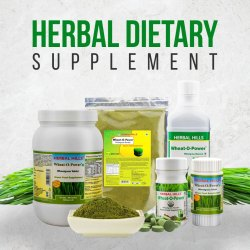 Wheat Grass - Herbal Dietary Supplements
