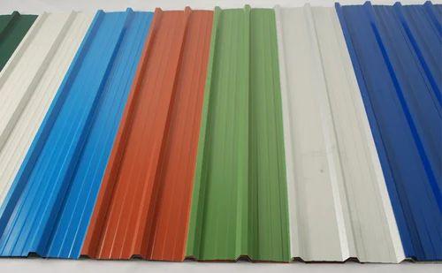 Colour Coated Steel Sheets at Rs 61000/metric ton | कोटेड स्टील शीट -  Rakesh Steel Industries Private Limited, New Delhi | ID: 5035701991