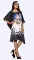 3D Digital Printed Short Kurta Kaftan For Casual Party Wear
