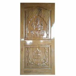 Decorative Teak Wooden Door