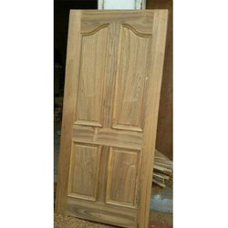 Rectangle Teak Wood Door
