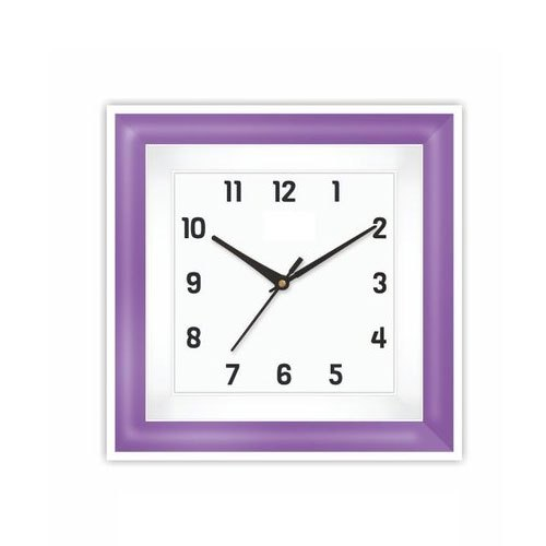 Analog Square Plastic Wall Clock, Size: 200 X 200 Mm, Model Name/Number: 1311