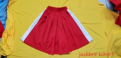 Red Skirt School Uniform