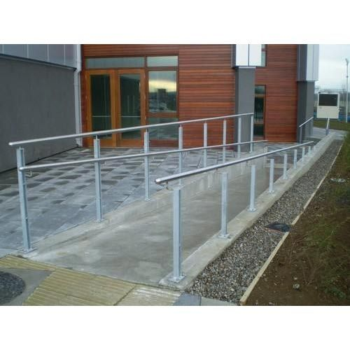 Stainless Steel Ramp Handrail - View Specifications