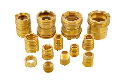 Brass Fasteners And Fixings - Brass Female Insert