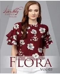 Flora Tops Vol-3 Western Tops Catalog Collection