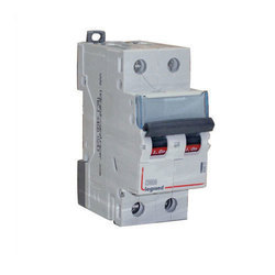 230 to 400 V Double Pole Legrand MCB, C-Curve