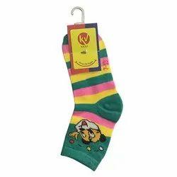 Kids Lycra Cotton Socks