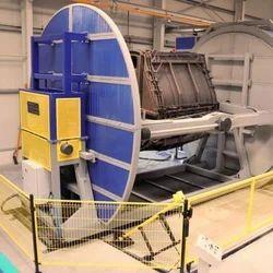 Shuttle Type Rotomoulding Machine