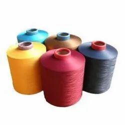 Dyed 150 Tex High Grade Polyester Yarn, For Textile Industry