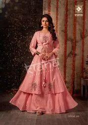 Kiana House Of Fashion Presents Navratri Collection Divine Heavy Kurti