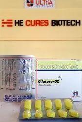 Ofloxacin -200 mg Ornidazole 500 mg Tablet