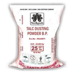 Talc Dusting Powder BP, Packaging Type: PP Sack Bag