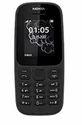 Nokia 105 Dual SIM, Black Mobile