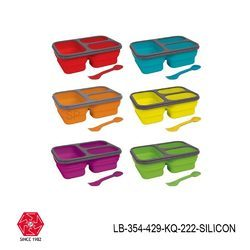 Silicone Lunch Box Foldable-LB-354