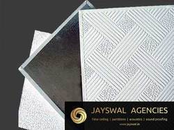 PVC Gypsum Laminated Ceiling Tile