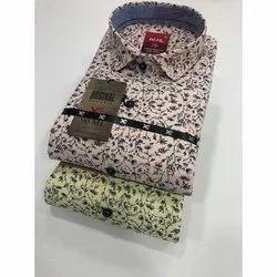 90 ML Cotton Mens Printed Shirt