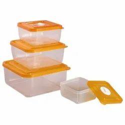 Richcraft International Feel Fresh Food Plastic Storage Box Set
