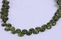 Vessonite Briolette Heart Shape Stone Beads