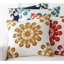 Embroidered Sofa Cushions