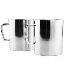 Stainless Steel Double Wall Coffee Mug