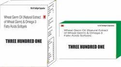 Wheat Germ Oil and Omega 3 Fatty Acids Softgels