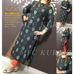 MFC 1230 Rayon Printed Kurti