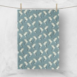 Cotton Crane Designed Printed Tea Towels, Size: 50x70 Cm