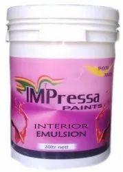 High Gloss Impressa Interior Emulsion Paint, Packaging Size: 20 Litre, Packaging Type: Bucket