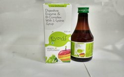 Digestive Enzymes and B-Complex With L Lysine Syrup