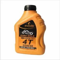 Euro Gold 4T 20W40 Motor Cycle Oil