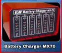 MX-70 Elak Battery Charger