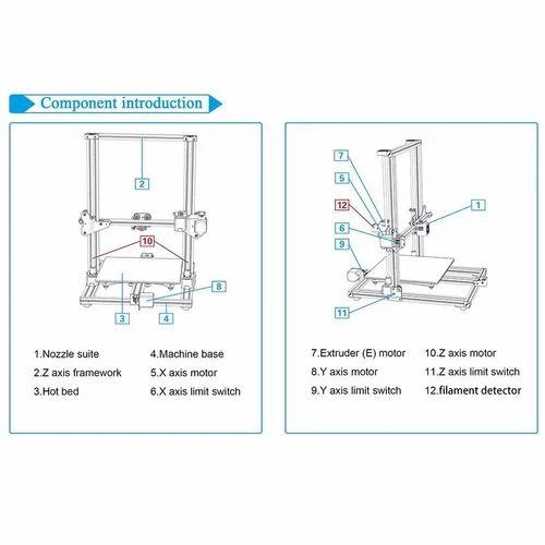Creality CR10S 3d printer 300300400mm 3D Printer