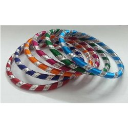 Gota Wrap Silk Bangles