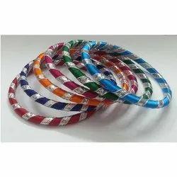 Beautiful Gota Wrap Silk Bangles