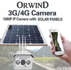 4G GSM Sim Supported Solar Camera