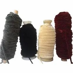 Dyed Chenille Yarn, for Textile Industry, Count: 40